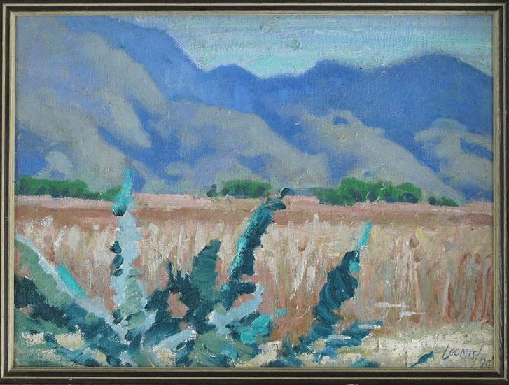 Clarence Ainslie Loomis: Ajijic Mountains (1990)