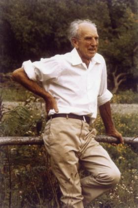 Fred Lape (Credit: Landis Arboretum website)