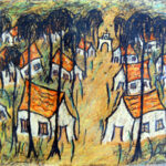 Painter and guitarist Gustavo Sendis (1941-1989) found artistic inspiration in Ajijic