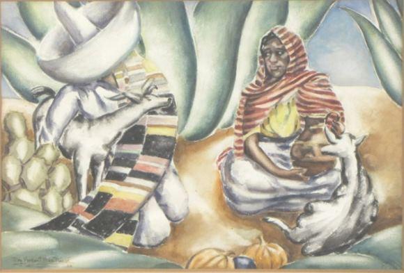 Roy MacNicol: Mood, Mexico (1936)