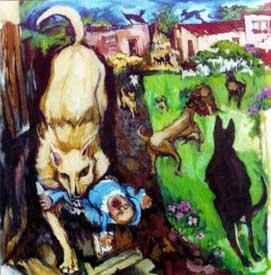 Nancy Ocrant: Todos Los Lobos.