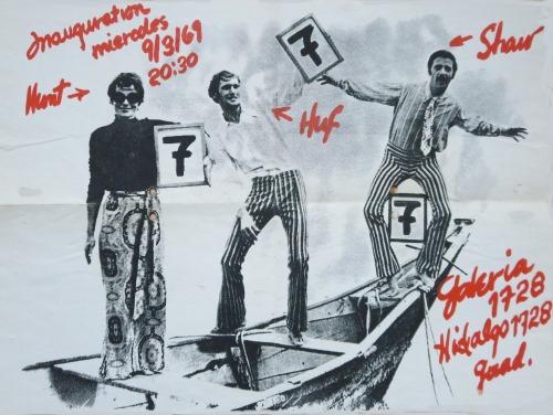 7-7-7 show (Hunt, Huf, Shaw), 1969