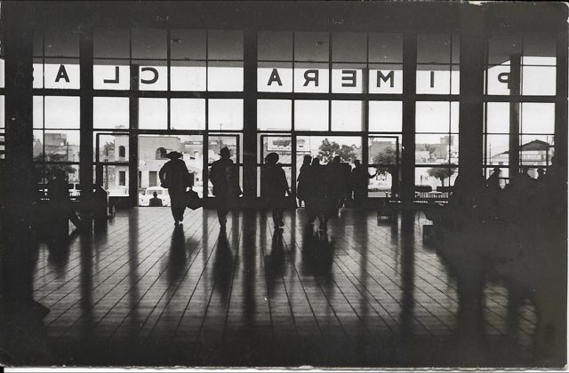 "Anne McKeever. 1955. ""Terminal de Autobusses"" - Guadalajara."