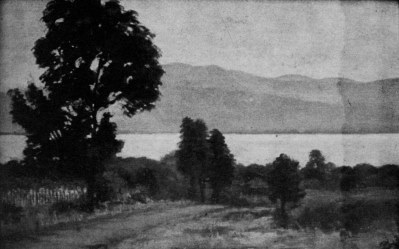 José Othón de Aguinaga. El camino viejo a Chapala.