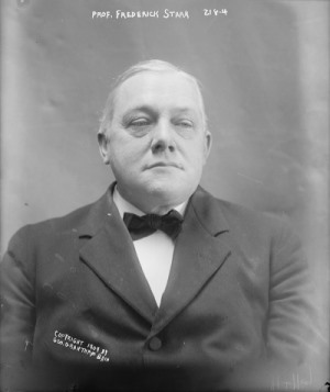 Frederick Starr in 1909.