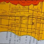 Geographer William Winnie Jr. and his map of Lake Chapala towns