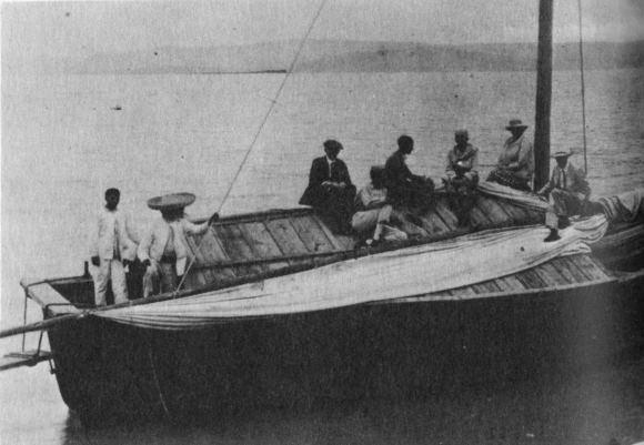 The Esmeralda boat trip, 1923