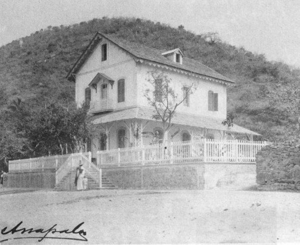 Ignacio Arzapalo. ca. 1898. Villa Capetillo, Chapala. [from Aquellos tiempos en Chapala)