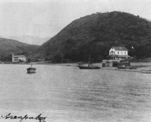 Ignacio Arzapalo. ca. 1898. Chapala shoreline. [from Aquellos tiempos en Chapala)
