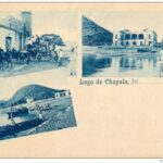 Juan Kaiser published some of the earliest postcards of Lake Chapala