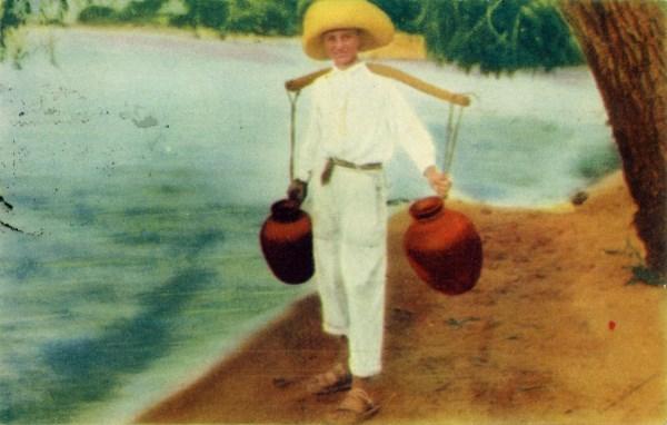 Luis Márquez. Aguador en el Lago de Chapala. (1939)
