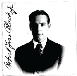 R Jere Black's passport photo, 1922