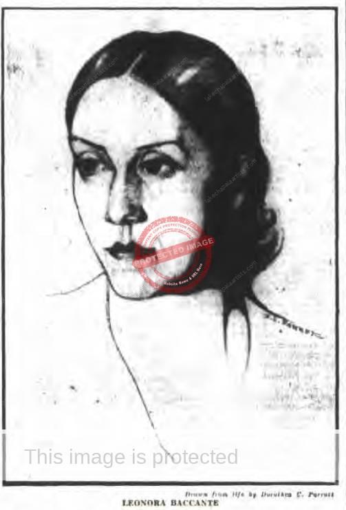 leonora baccante  ca 1905