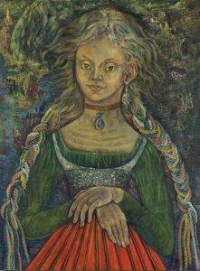 Sylvia Fein: Muchacha de Ajijic (1945). Reproduced by kind permission of the artist.