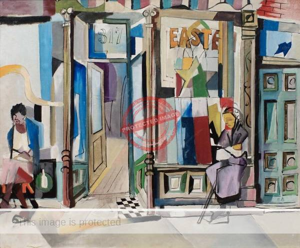 Ernest Alexander: Untitled (Shop front and doors). Image credit: Richard Norton Gallery