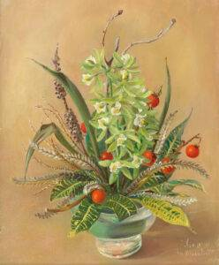 Ann Medalie: Flowers (date unknown)