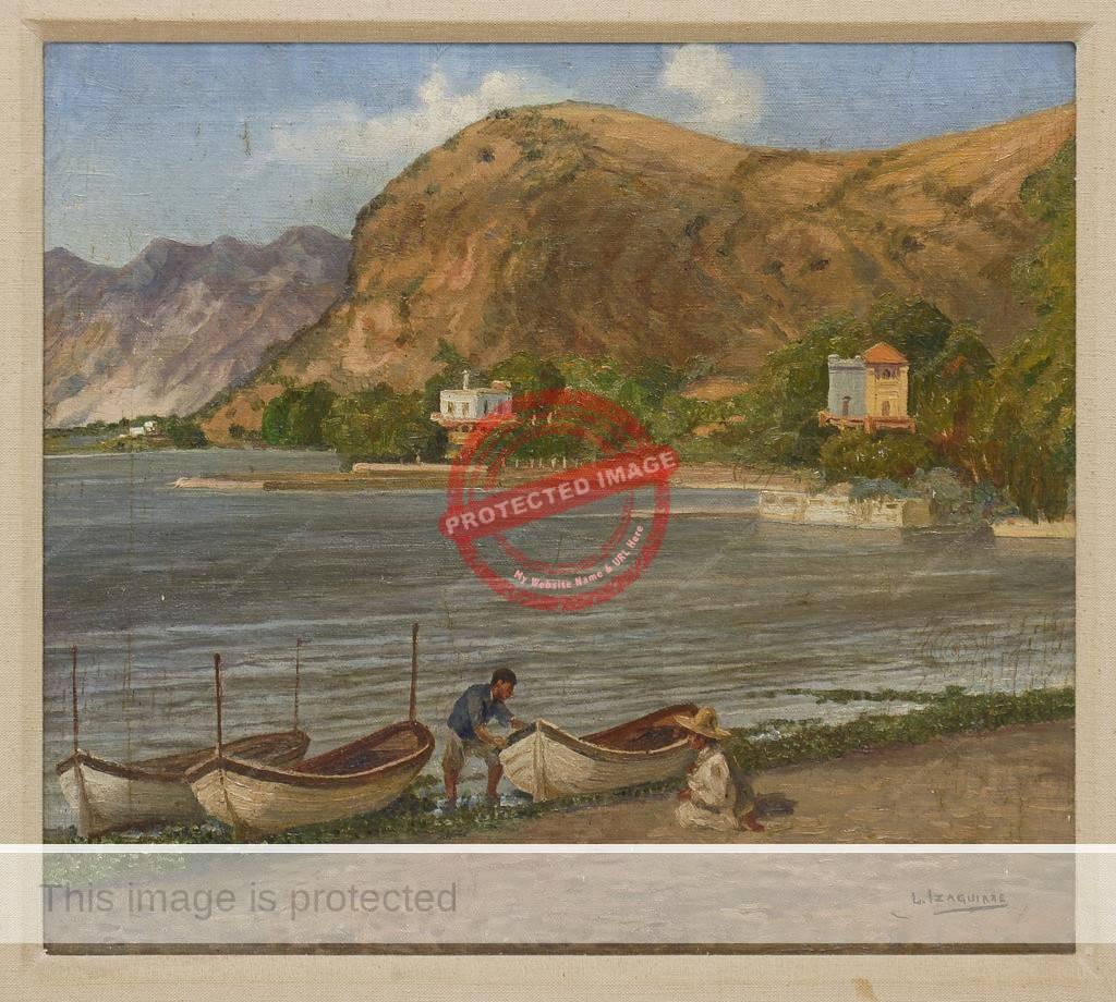 Leandro Izaguirre: El Lago de Chapala (date unknown)