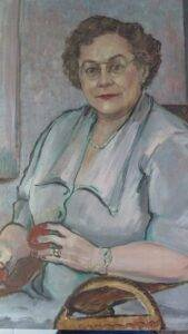 De Nyse Turner. Portrait (1951). Image courtesy of Ricardo Santana.