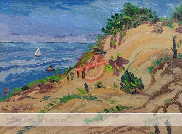 Emil Armin. Sunburnt Dunes (1942)