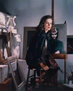 Lily Cushing, 1942. Photo by Horst P. Horst,.