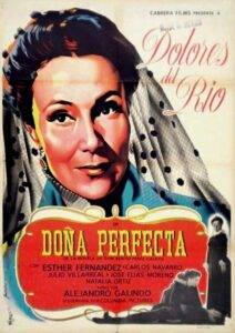 Poster for Doña perfecta (1950)