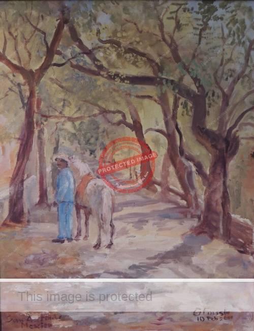 Gustel Foust.2000. Camino Real, Ajijic.