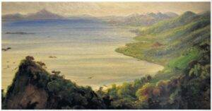 Rugendas: Lake CHapala