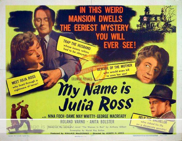 Roland Varno in My Name is Julia Ross (1945)