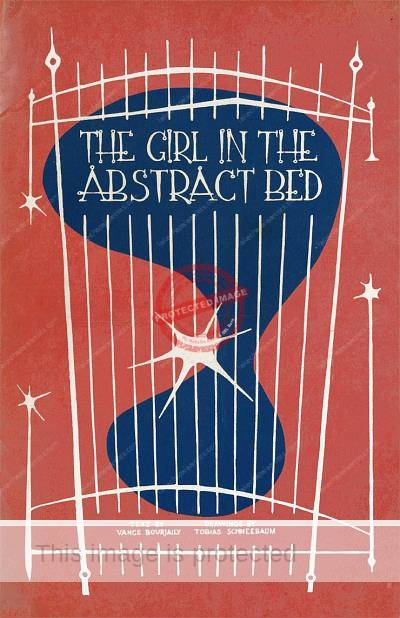 Front cover of Girl in the Abstract Bed