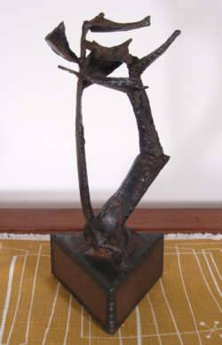 Blanche Phillips Howard. Untitled metal sculpture.