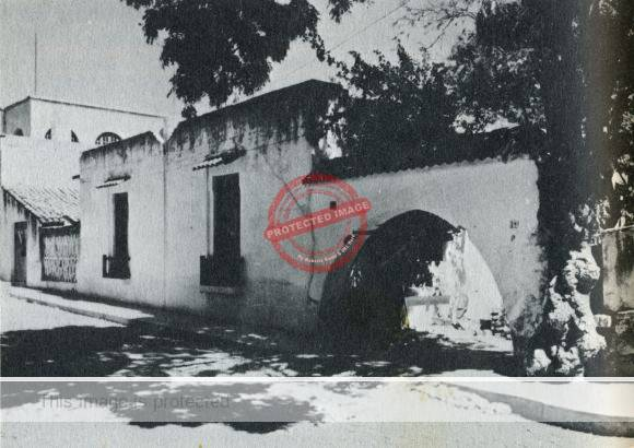DH Lawrence house in Chapala, ca 1950, Photo by Roy MacNicol
