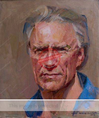 Everett Raymong Kinstler. 2014. Portrait of Cliint Eastwood.