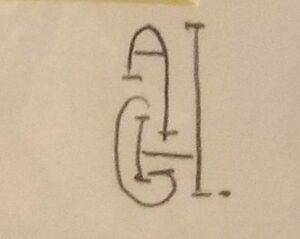 Monogram of unidentified photographer