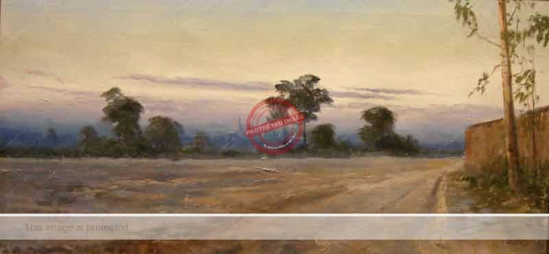 Isca Farías.Paisaje de Guadalajara. (Guadalajara landscape).