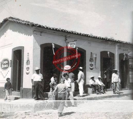 Malle Crump. Serna's store, Ajijic. early 1960s. {reproduced courtesy of Raymond Crump)