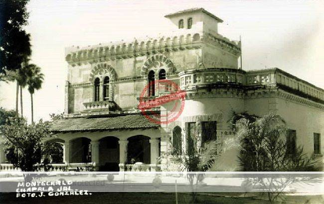Postcard of The Villa Montecarlo, Chapala, ca 1940
