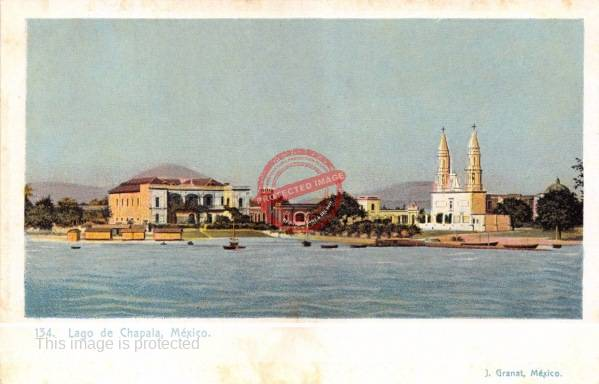 Chapala, ca. 1905. Postcard published by J. Granat.