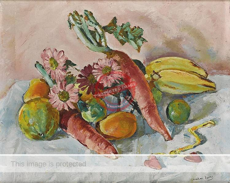 Clinton King. 1930s. Still life. (Sold at Heritage Auctions, 2006)