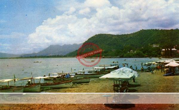 Postcard of Lake Chapala sent by Bigelow's wife (front)