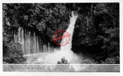 Herbert Johnson. c. 1943. Tzararacua Falls, near Uruapan