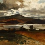 Austrian landscape artist August Lohr (1842-1920) painted Chapala at the start of the 20th century