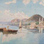 Watercolorist Paul Fischer (1864-1932)