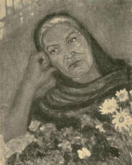 """Trude Neuhaus. c. 1925 """"Florista Mexicana."""""""