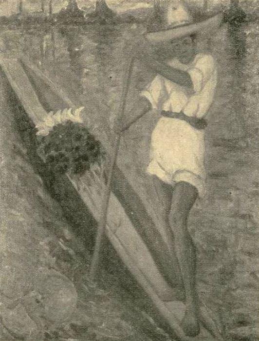 """Trude Neuhaus. c. 1925 """"Remero de Xochimilco."""""""