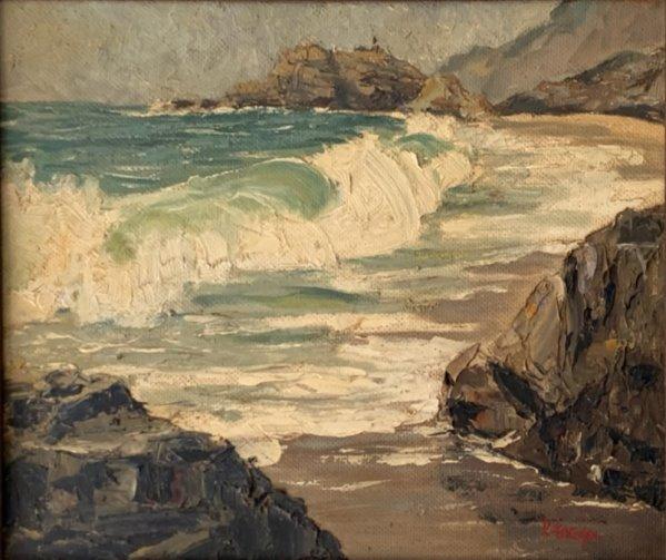 Priscilla Frazer. Marine scene (undated, untitled).