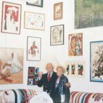 Sid Miller retired to Ajijic in 1982 to paint and sculpt