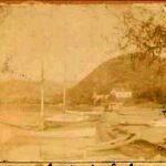 Early stereoscopic photos of Lake Chapala