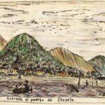 Francisco González Ruvalcaba painted Lake Chapala in the 1880s