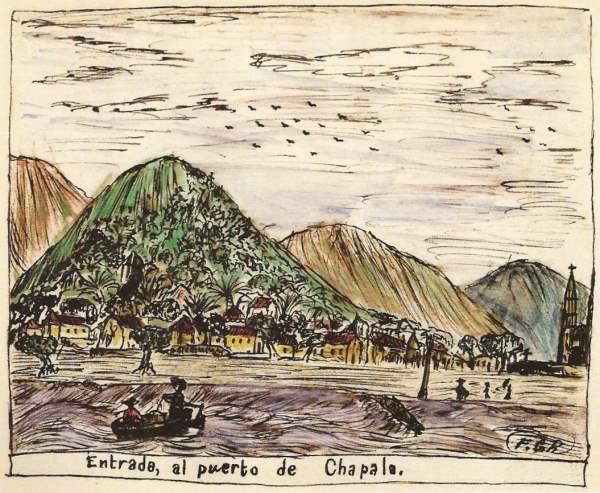 Francisco González Ruvalcaba. Chapala. c 1882.