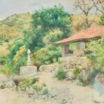 Peter Woltze and his 19th century watercolor of Chapala